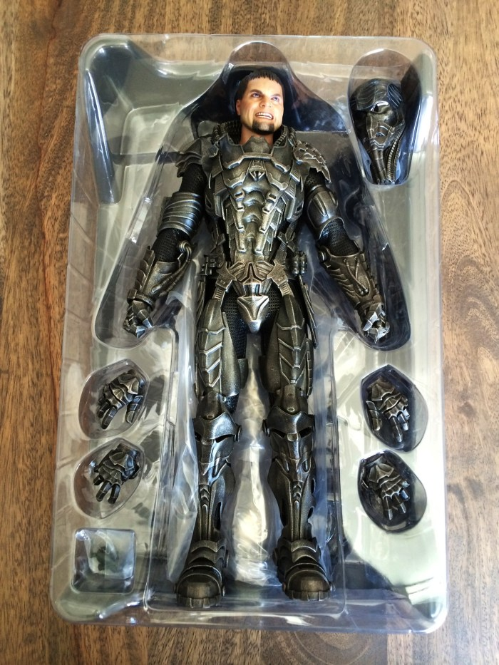 Hot Toys Man Of Steel General Zod Sixth Scale Figure box