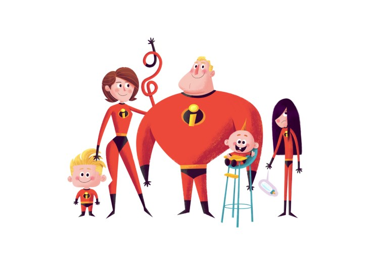Incredibles - Matt Kauffenberg