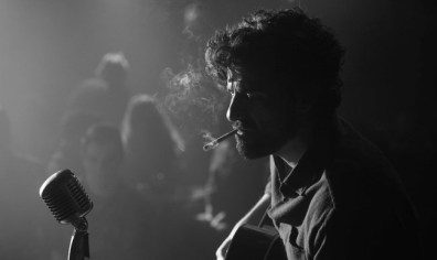 Inside Llewyn Davis - black and white header