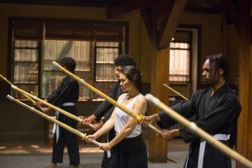Iron Fist - Colleen Wing (Jessica Henwick) in dojo