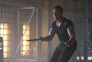 Jean Claude Van Damme in The Expendables 2