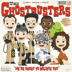 Joey Spiotto - Ghostbusters Print