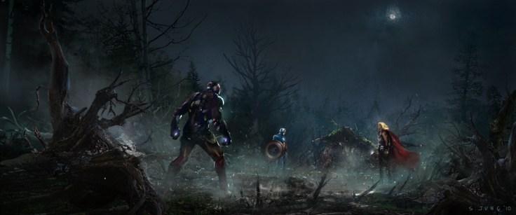 Jung - Avengers concept art 1