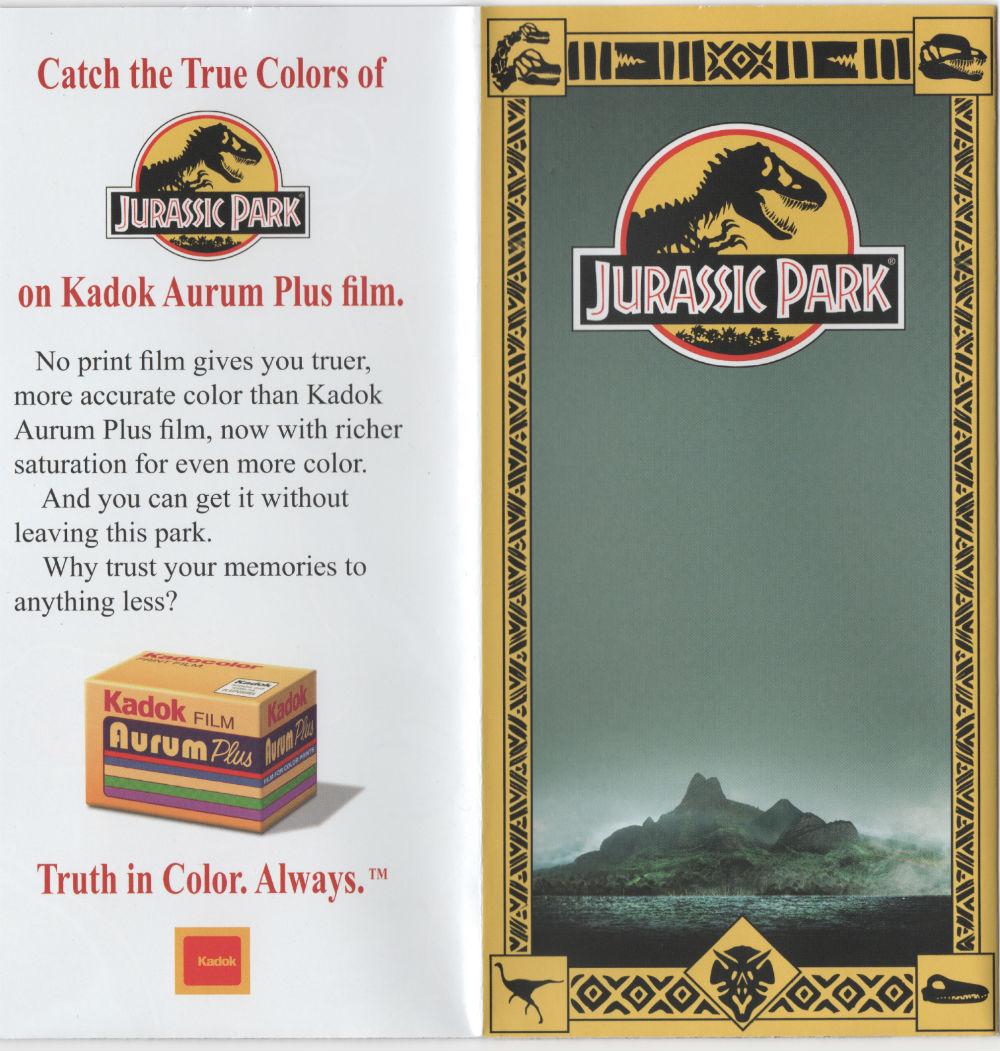jurassic world brochure gives glimpse at new dino park