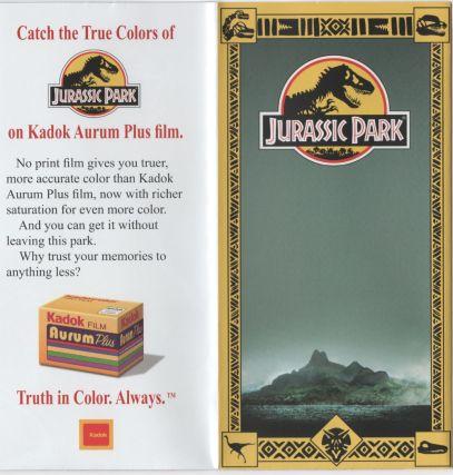 Jurassic Park Brochure 2