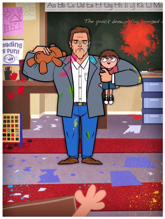 Justin White - Kindergarten Cop