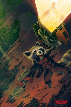 Kevin Tong - Rocket Raccoon Variant Guardians