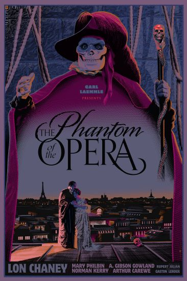 Laurent Durieux - Phantom of the Opera Variant