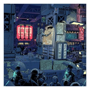 Laurie Greasley - Blade Runner