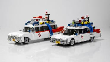 Lego Ghostbusters comparison 4