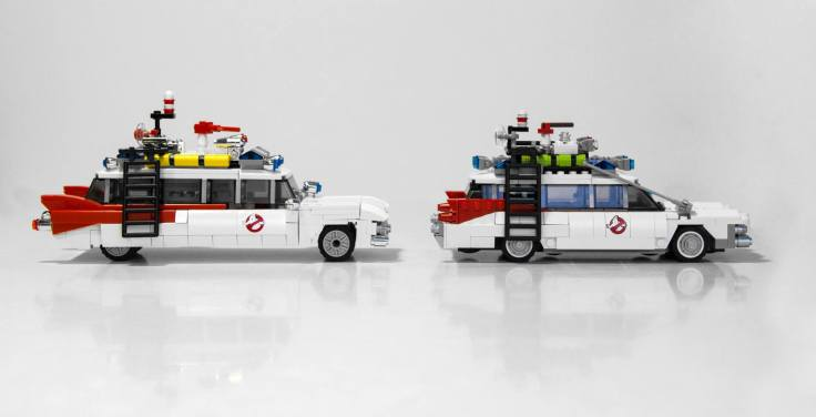 Lego Ghostbusters comparison 9
