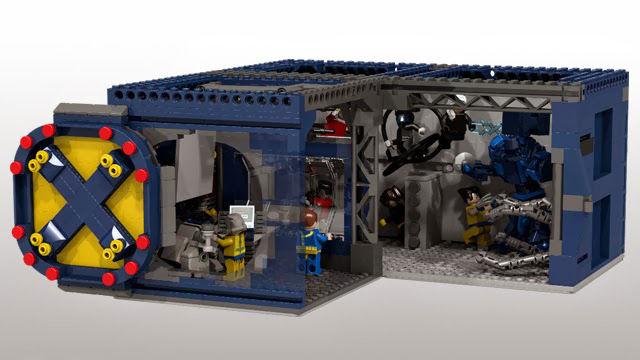 LEGO X-Men 76022 Minifigures with Professor X Wolverine Cyclops ...