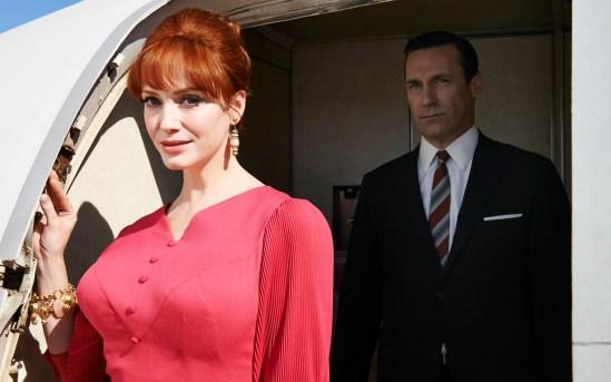 Mad Men Season 7 - Joan and Don