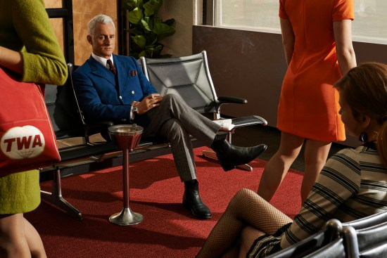 Mad Men Season 7 - John Slattery as Roger Sterling