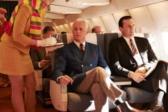 Mad Men final season images - Roger Sterling and Don Draper