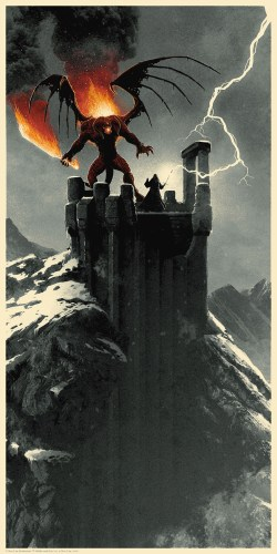 Matt Ferguson's Lord of the Rings Trilogy Print Set bagend Zirakzigil