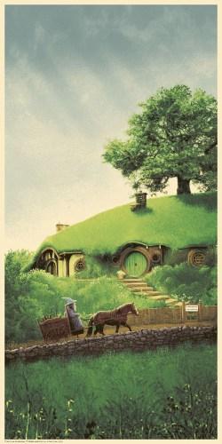 Matt Ferguson's Lord of the Rings Trilogy Print Set bagend