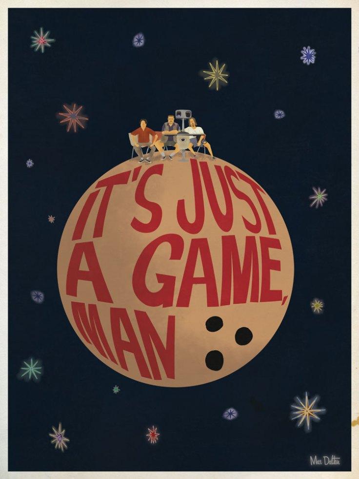 Max Dalton Lebowski Game poster