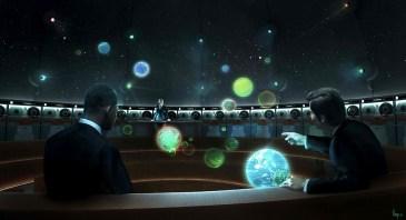 Men in Black 3 - Galaxarium concept art