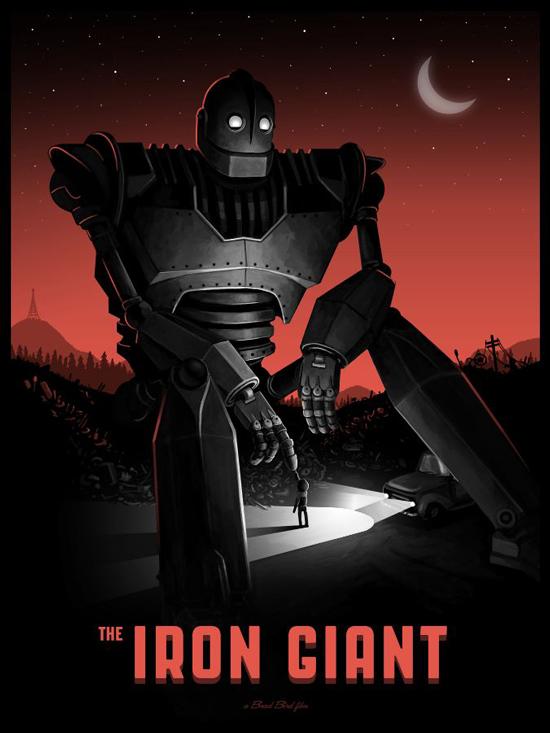 Mike Mitchell - Iron Giant Var