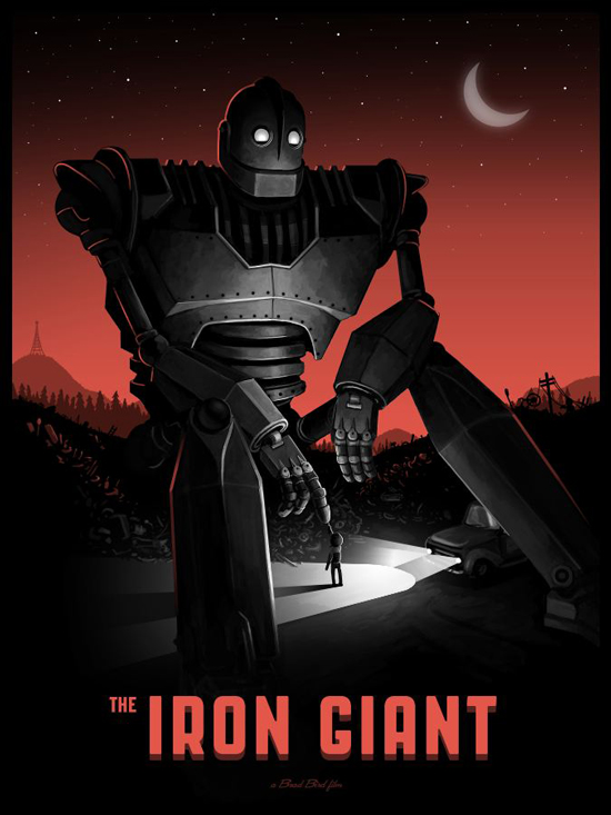 Mike Mitchell - Iron Giant Var