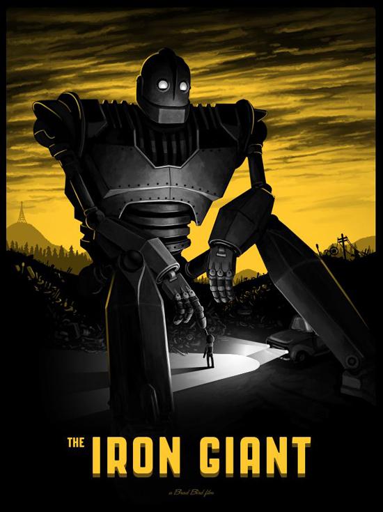 Mike Mitchell - Iron Giant reg