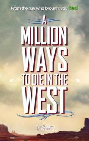 Millon Ways To Die Poster 1