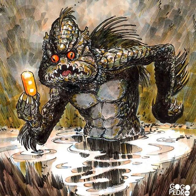 Monster Creeps -Pedro Delgado
