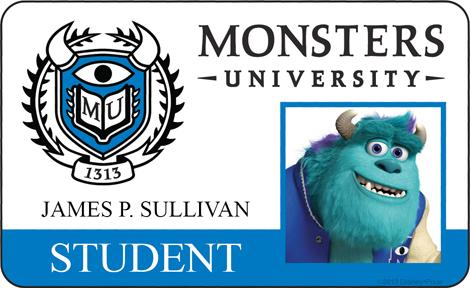 Monsters University ID - Sully