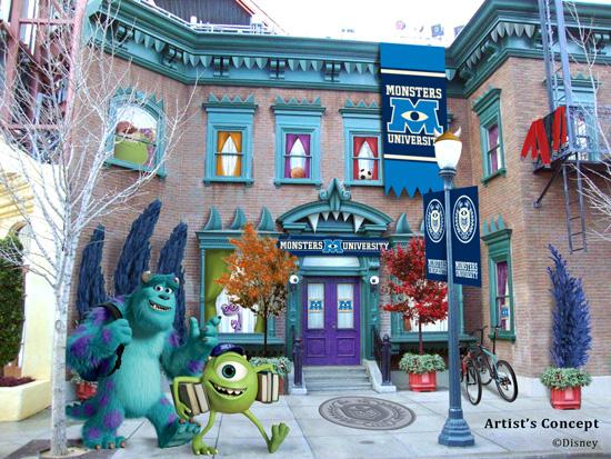 Monsters University dorms