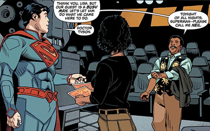 Neil deGrasse Tyson in Superman