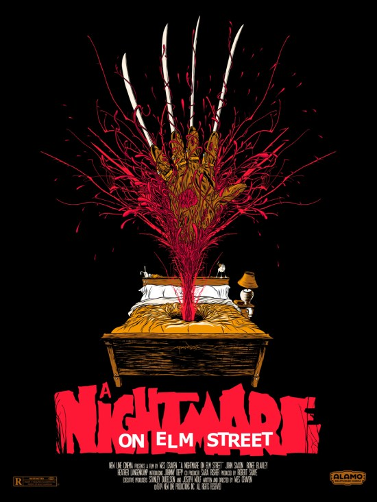 Alex Pardee - A Nightmare on Elm Street