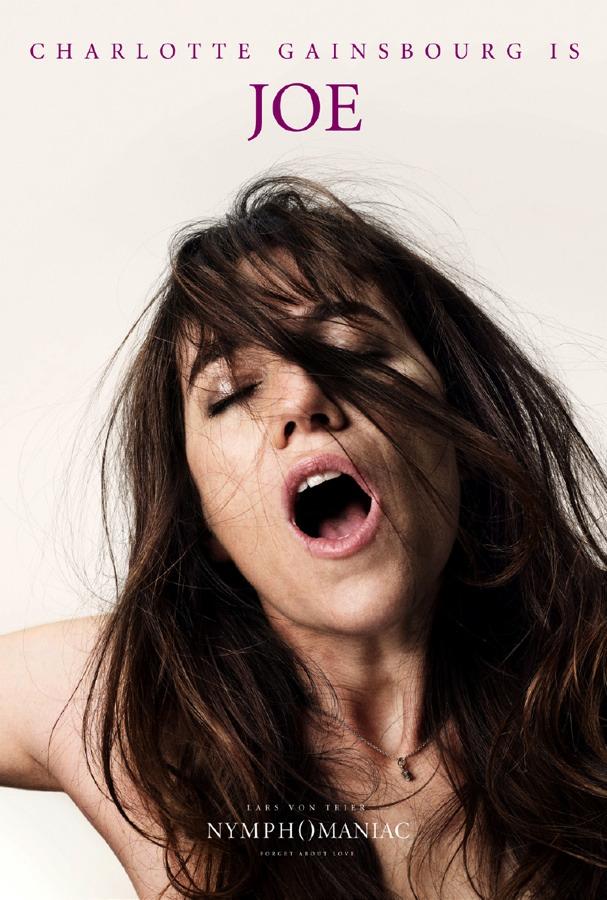 Nymphomaniac Poster - Charlotte Gainsbourg