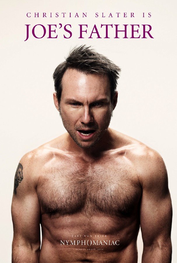 Nymphomaniac Poster - Christian Slater