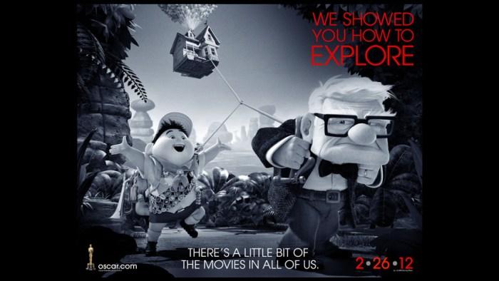 Oscars 2012 Up
