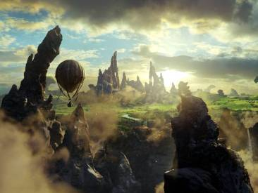 Oz Great and Powerful - balloon