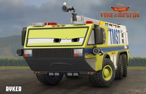 Planes Fire and Rescue Ryker