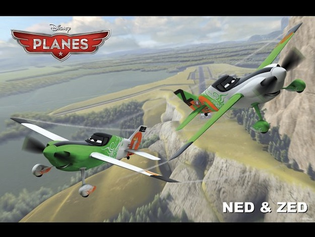 Planes - Ned and Zed