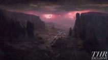 Prometheus concept art - planet
