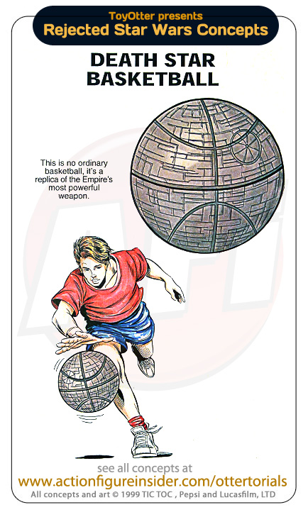 Rejected Star Wars - Basketball
