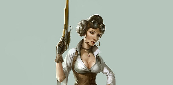 Steampunk Leia Featured