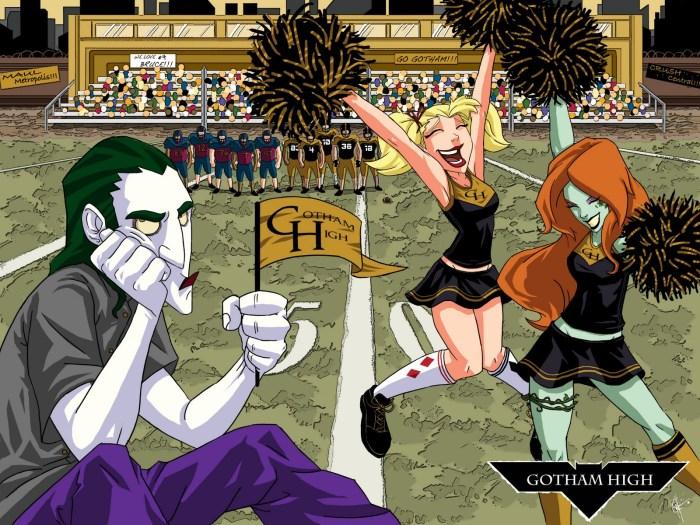 Gotham High - School Spirit