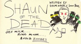 Shaun of the Dead Script Header