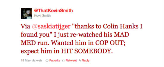 Smith Hanks Tweet