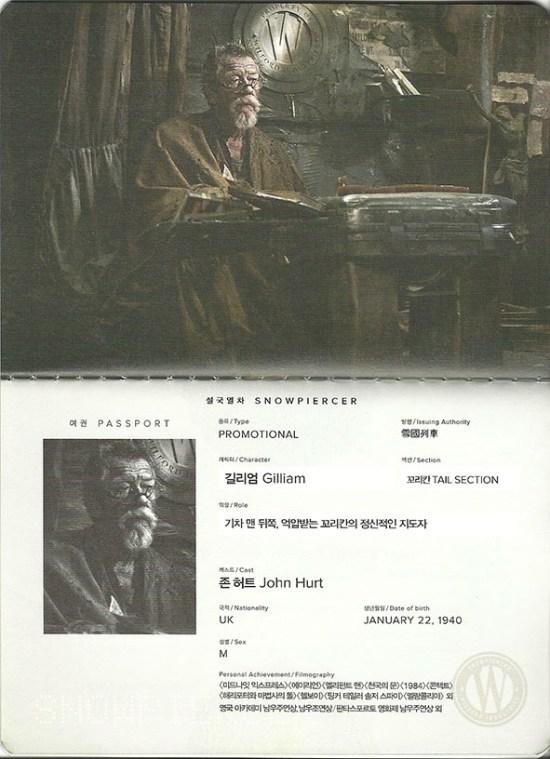 Snowpiercer - John Hurt