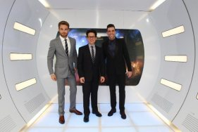 Star Trek Into Darkness - Pine, Abrams, Quinto 2