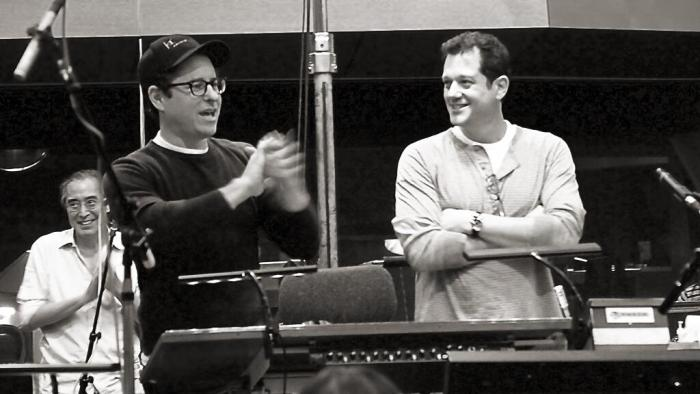 Star Trek Into Darkness scoring session 1
