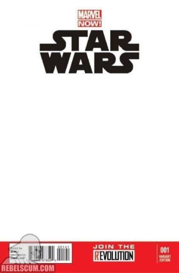 Star Wars 1 Blank variant