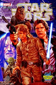 Star Wars 1 Mark Brooks Midtown Comics