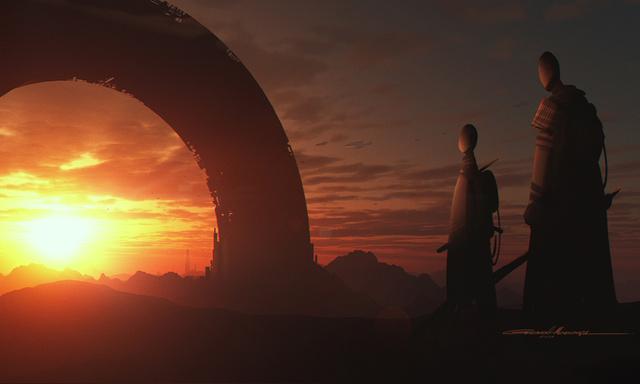 Star Wars 1313 Concept Art 1
